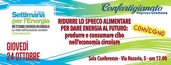 Settimana per l'Energia: un convegno a Cremona